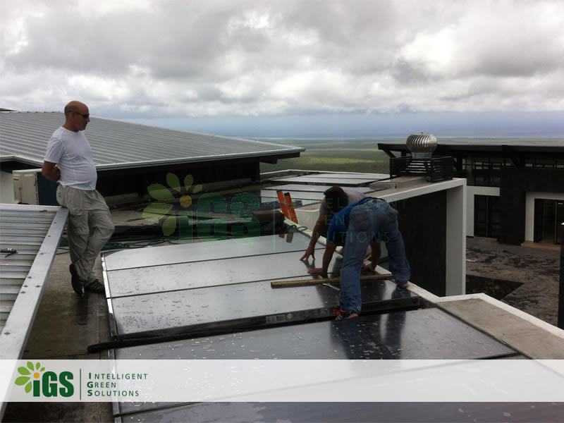 Resort Solar Hot Water System – Pikaia Resort