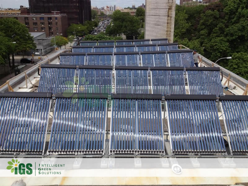 Non-Profit Solar Hot Water System – St Mary's Rec Center