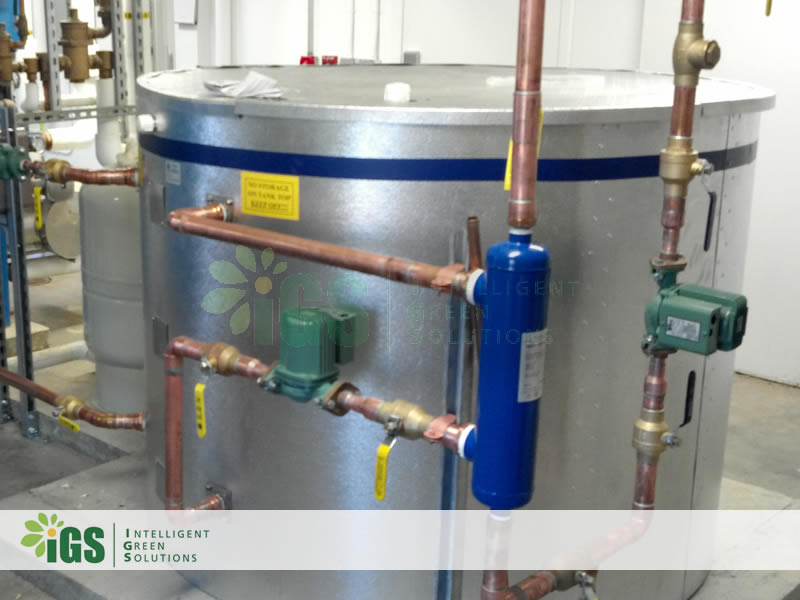 College Solar Hot Water System – Richard Stockton College Installation Image