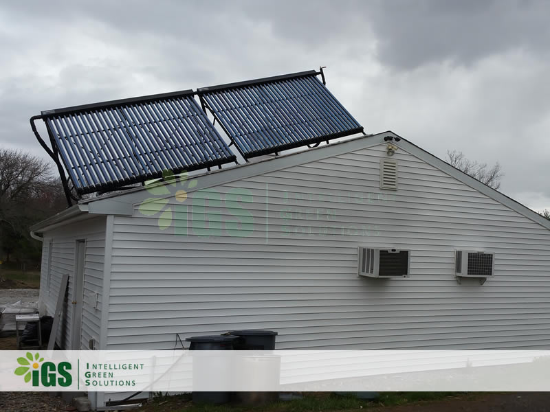 Beef Farm Solar Hot Water System – New York Beef Co