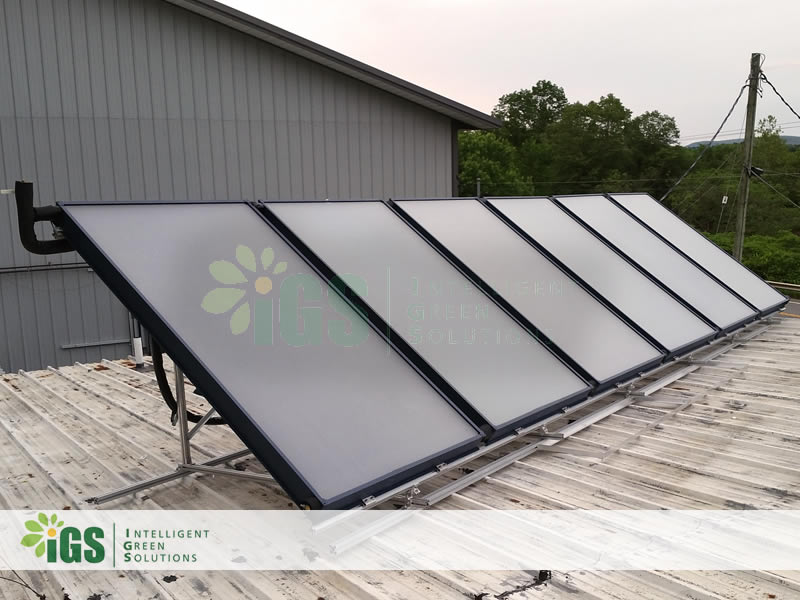 Commercial Solar Hot Water System – Innovative Solar Solutions