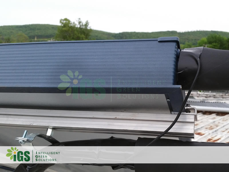 Commercial Solar Hot Water System – Innovative Solar Solutions Installation Image