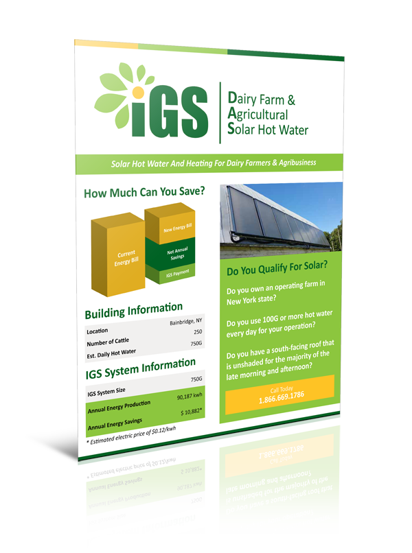 PDF Version: Dairy Farm Solar Hot Water System – Hamley Farms