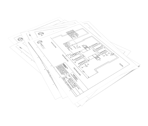 Piping & Roof Layout Diagrams