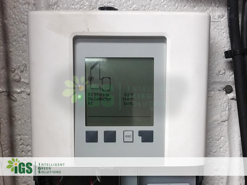Government Solar Hot Water System – Homeland Security Installation Image