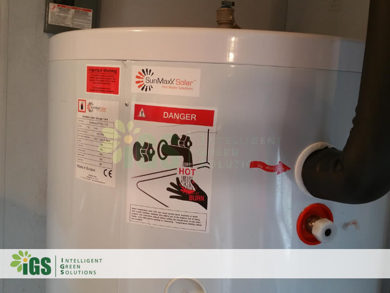 Dairy Farm Solar Hot Water System – Pikul Farms Installation Image