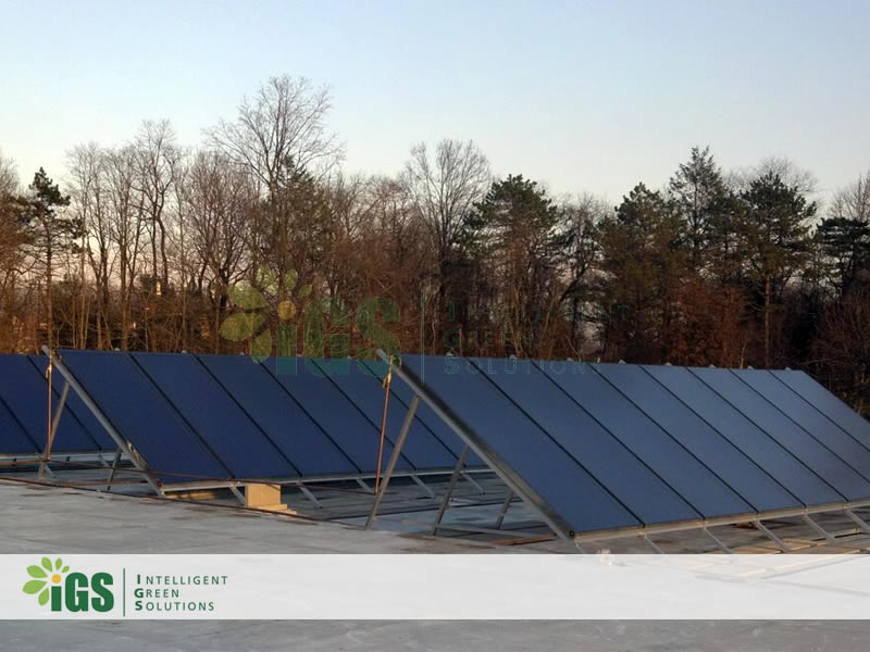 College Solar Hot Water System – Westchester Community College