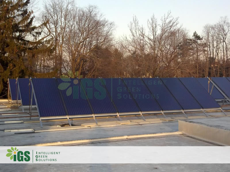 College Solar Hot Water System – Westchester Community College Installation Image