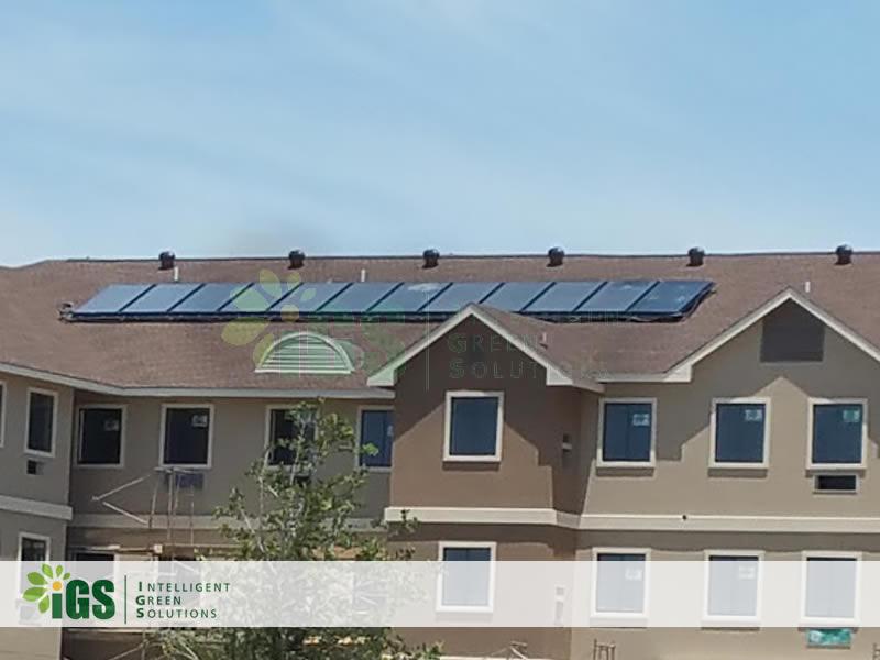 Hotel Solar Hot Water System – Staybridge Suites / Marriott Installation Image