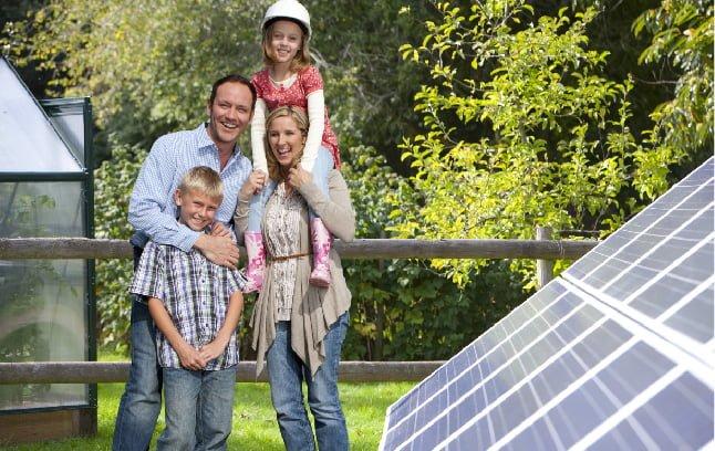 Happy Family with Solarsystem