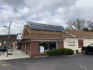 IGS installed a solar hot water system on PV Waldron's, Sidney
