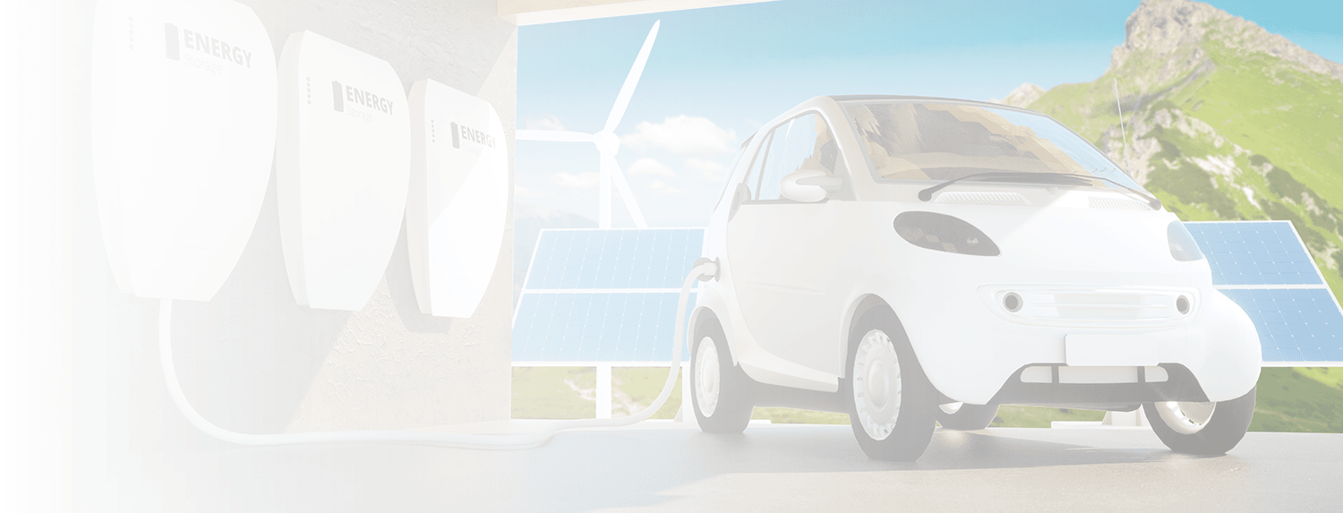 Solar power stored in batteries to charge electric vehicle