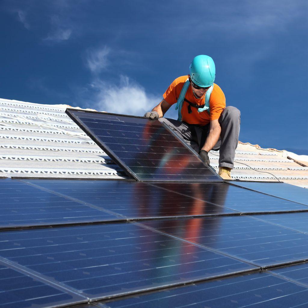 Solar industry provides jobs