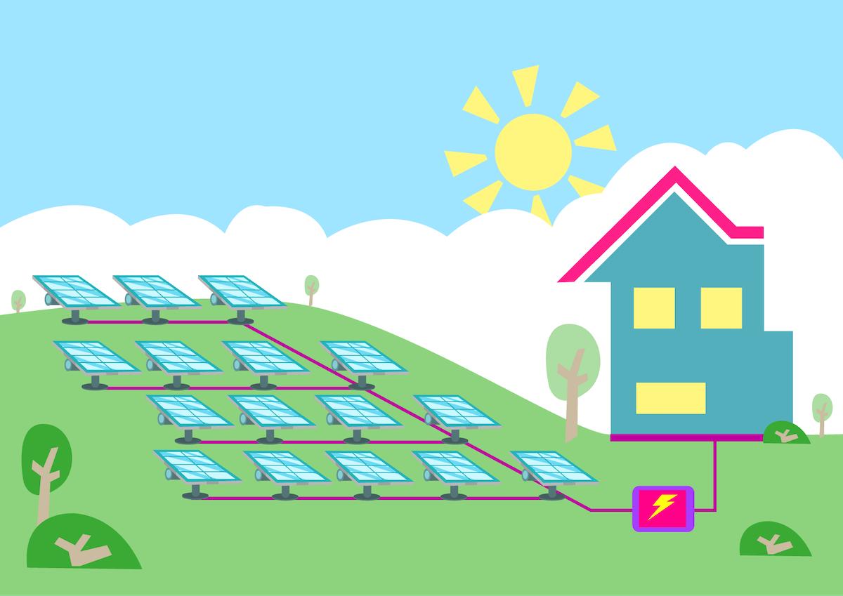 community solar array