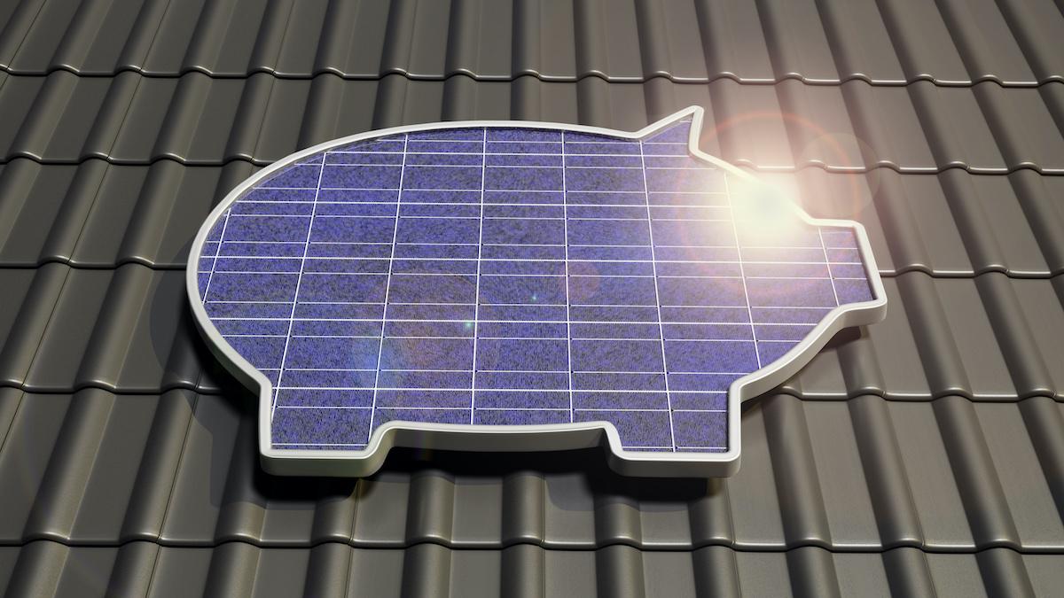 saving money with solar